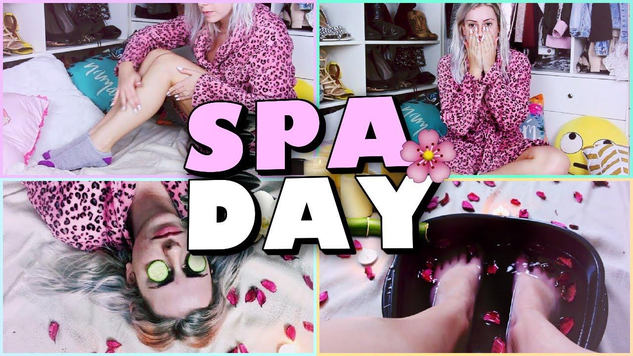 Voce Precisa Desse Dia Spa Day Amanda Domenico Youtube