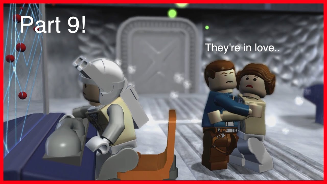 they interrupted han solo & leia! ( lego star wars - the