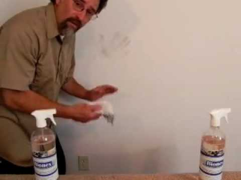 How To Clean Handprints Without Removing Paint Using Bionex You