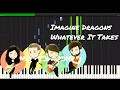 Imagine Dragons - Whatever It Takes Piano Tutorial Mp3