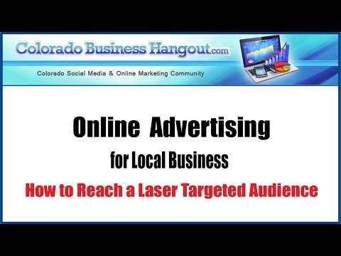 Colorado Business Hangout - Local Business Online (FB) Advertising