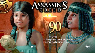 Let's Play Assassin's Creed Origins 90: Zahra, Khenut & Shadya, Dionysias Wharf & the Ledger