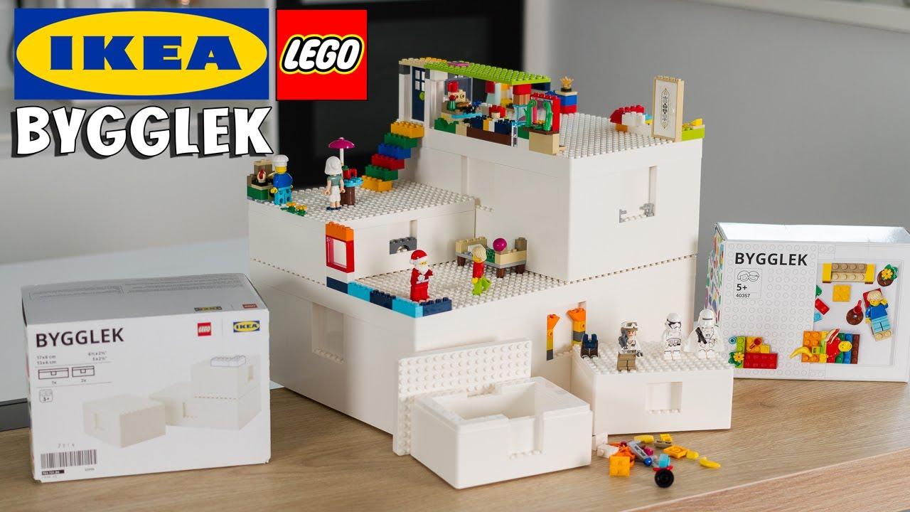 ikea lego bygglek ca vaut quoi les boites de rangement modulables review unboxing