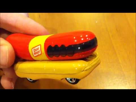 HOT WHEELS Part 2: OSCAR MAYER WIENERMOBILE - Mike Plays With Toys #64