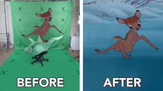 Behind the Scenes footage from Bambi - Special Effects