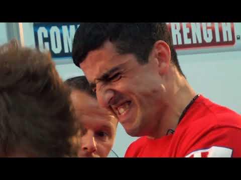 Arm Wars | Arm wrestling | Matiashvili GEO v Haugland NOR