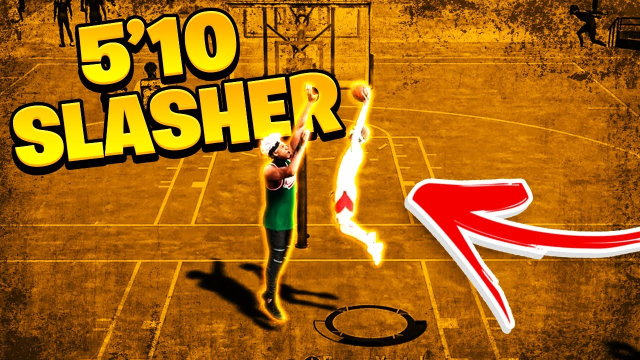 I used a 5'10 SLASHER on nba 2k20 and it was actually fun..