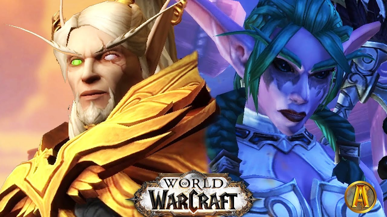 World of Warcraft (2020): BFA Ending Cutscenes [Alliance & Horde] - 8.3 Visions of N'zoth thumbnail