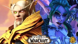 World of Warcraft (2020): BFA Ending Cutscenes [Alliance & Horde] - 8.3 Visions of N'zoth