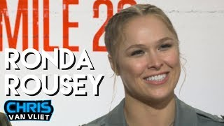 Baixar Ronda Rousey on what WWE fans think of her, The Rock, Mile 22, WrestleMania