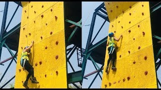 Live video _ Rock Climbing || _ Fun Adventure Activities in Bangalore City
