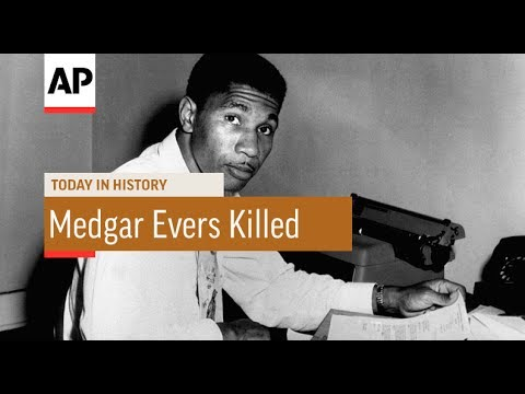 Medgar Evers Killed - 1963 | Today In History | 12 June 17