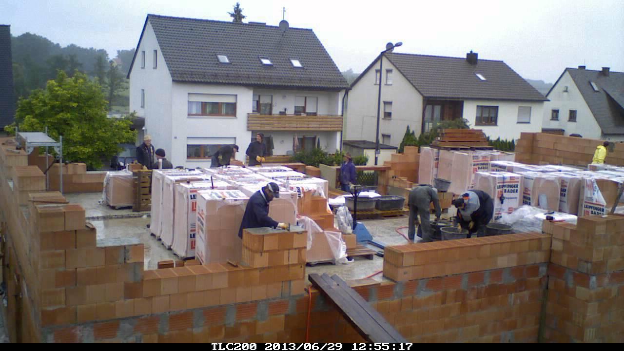 Fabulous 130629 - Haus EG - Außenwände mauern I - YouTube LL91