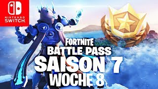 🔴 Battle Pass Banner Week 8 Challenges | Fortnite Switch