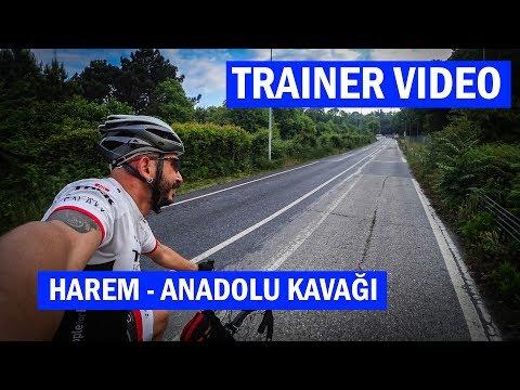 Harem'den Anadolu Kavağına | Asla Durma Bisiklet Trainer Videoları