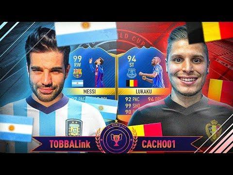 ARGENTINA VS  BÉLGICA - TOBBAL vs CACHO - YUL MUNDIAL