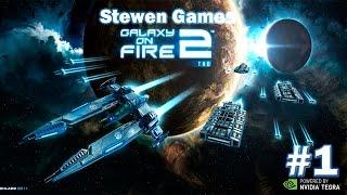 Прохождение игры Galaxy on Fire 2 HD (Android) #1 Путешествие во времени