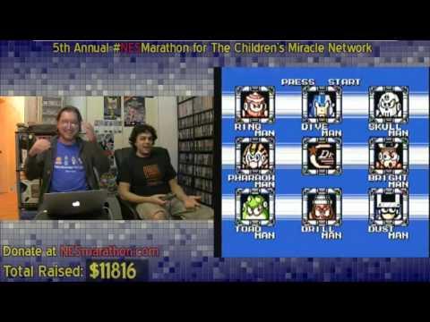 Mega Man IV Porn Talk - Classic 5th NES Marathon Moment
