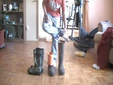 muck boots and cabelas boots - YouTube