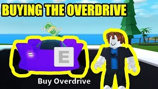 BUYING the *NEW* OVERDRIVE 4 MILLION CAR! | Roblox Mad City