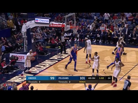 4th Quarter, One Box Video: New Orleans Pelicans vs. New York Knicks