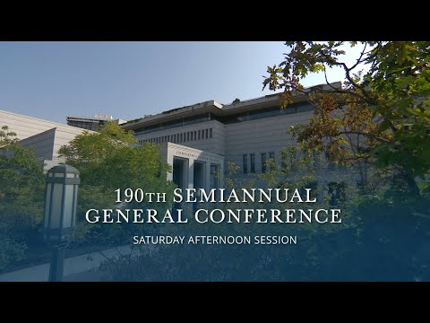 October 2020 General Conference | Saturday Afternoon Session
