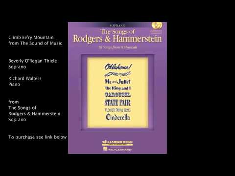 "Climb Ev'ry Mountain from ""The Sound of Music"" (Soprano) by Richard Rodgers & Oscar Hammerstein II"