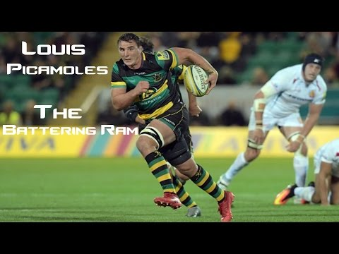Louis Picamoles- The Battering Ram- Best Tries, Steps and Bump offs ||HD||