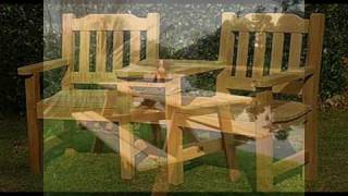 Wooden Garden Furniture - Hardwood Garden Table And Chairs