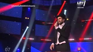 Eurovisión 2013 - Lituania - Andrius Pojavis - Something (Algo)