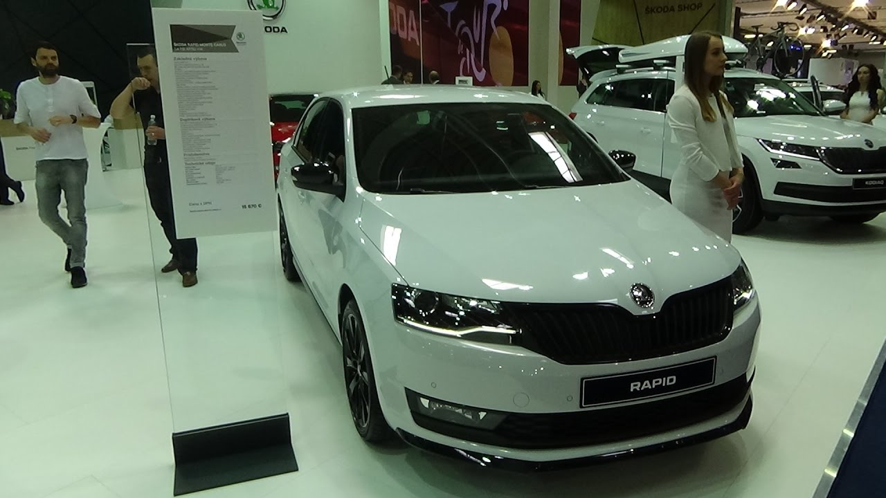2018 Skoda Rapid Monte Carlo Exterior And Interior Auto Salon