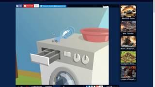 escapa de la lavadora gatito mimou escape 2 EP3 SERIE1