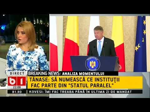 STIRI B1TV cu Nadia Ciurlin si Stelian Tanase: ANALIZA MOMENTULUI- RAZBOI LA NIVEL INALT