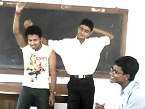 Class Enjoyment At Engineering College Of Krishnanagar, Nadia...