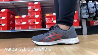 The ASICS Gel Contend 5 is a Good ALL AROUND Basic Runner