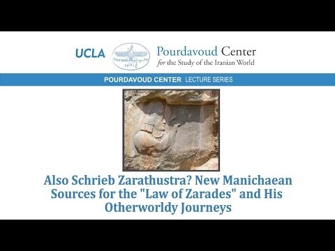 """Thumbnail of Also Schrieb Zarathustra?New Manichaean Sources for the """"Law of Zarades"""" & His Otherworldly Journeys video"""