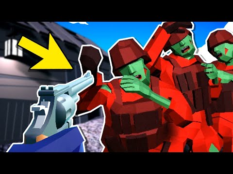Fighting INFECTED ZOMBIE SOLDIERS On A HAUNTED BATTLEFIELD Was A Terrible Idea In Ravenfield
