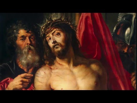 """Rheinberger Passionsgesang, Teil 1,  """"Zum Kreuzestode führen sie meinen Jesus hin"""""""