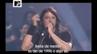 Foo Fighters VH1 Storytellers Full/Completo (Subtitulos Español)