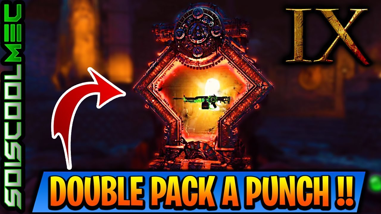 COMMENT DBLOQU LE PACK A PUNCH SUR IX NINE TUTO COD BLACK OPS 4