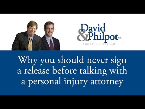 http://Davidlaw.com | 800.360.7015  A common mistake accident victims make is to accept an early settlement offer from the insurance company - BEFORE consulting with a personal injury attorney.  Why is...