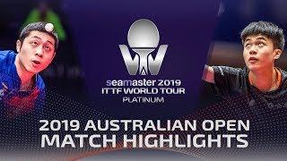 Xu Xin vs Lin Yun-Ju   2019 ITTF Australian Open Highlights (R16)