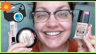 let s test wet n wild photo focus collection foundation concealer powder