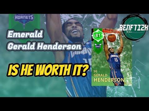 NBA2k18 Emerald Gerald Henderson