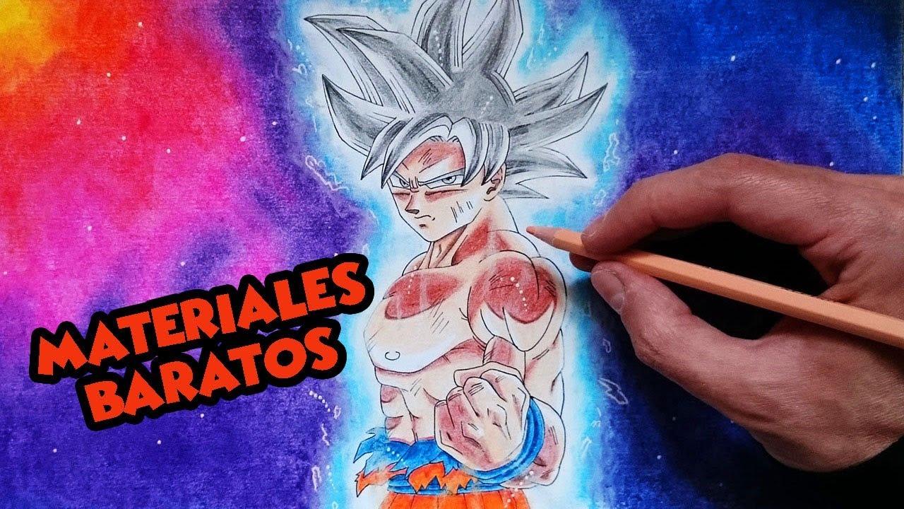 Como Dibujar A Goku Ultra Instinto Dominado Paso A Paso Migatte No