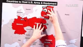 """Maps: Russia vs. NATO   """"Buck Sexton"""""""
