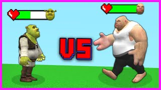 SHREK VS KORKUNÇ DEV! 😱 - Minecraft