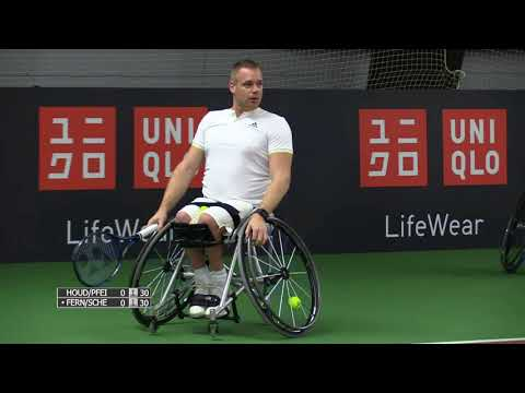 2017 UNIQLO Wheelchair Tennis Doubles Masters | HOUDET/PEIFER v FERNANDEZ/SCHEFFERS