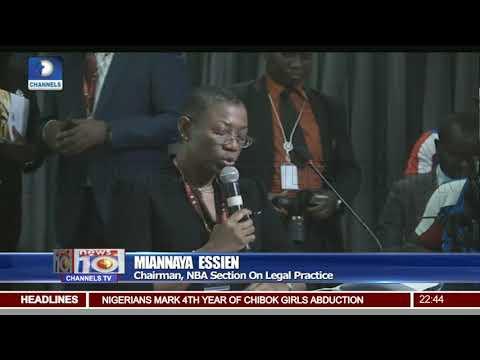 Oando Stock Saga, An Embarrassment To Nigeria's Capital Market - Rewane Pt.3 |News@10| 14/04/18