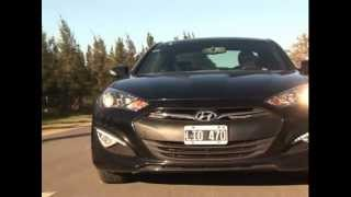 Hyundai Genesis Coupe 2.0 T Test Mat as Antico смотреть